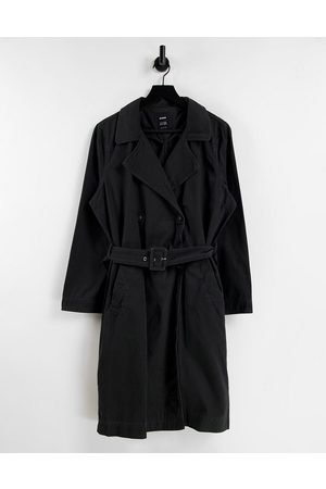 Cotton On Women Trench Coats - Cotton: On trench coat in washed