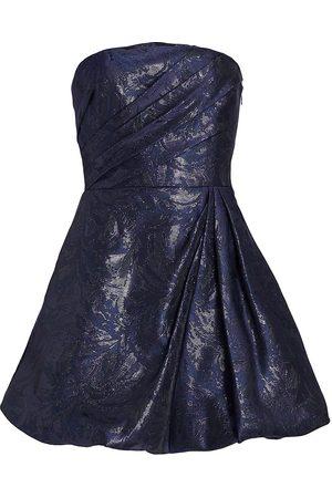 Ml Monique Lhuillier Women Strapless Dresses - Jacquard Strapless Minidress