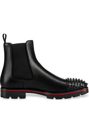Christian Louboutin Men Formal Shoes - Melon Spikes Flat Boots