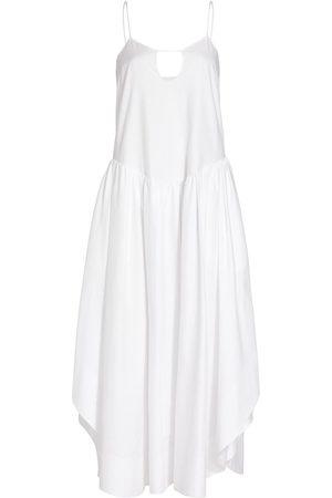 Khaite Norelle Asymmetrical Maxi-Dress