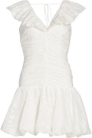Ml Monique Lhuillier Women Sleeveless Dresses - Organza Sleeveless Minidress