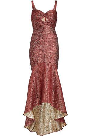 Ml Monique Lhuillier Women Evening dresses - Metallic Jacquard Gown