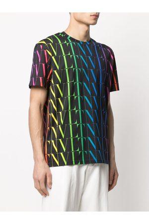 VALENTINO Men T-shirts - Vltn Times Cotton T-shirt- Man