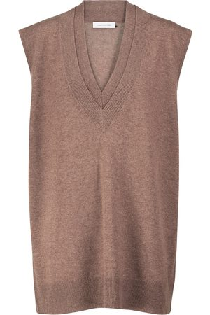 CHRISTOPHER ESBER Wool and cashmere sweater vest
