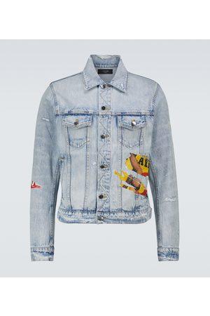 AMIRI Playboy denim trucker jacket