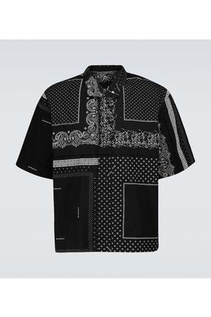 Givenchy Printed short-sleeved cotton shirt
