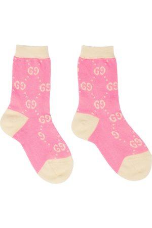 Gucci Baby logo cotton-blend socks