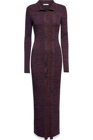 CHRISTOPHER ESBER Ribbed-knit maxi dress