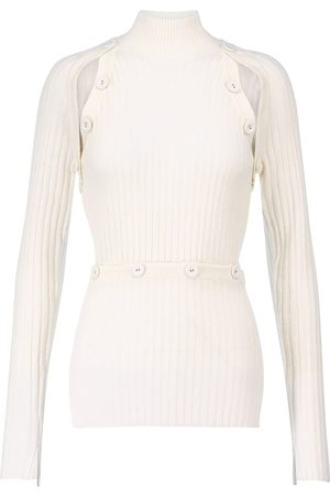 CHRISTOPHER ESBER Convertible wool and cashmere sweater