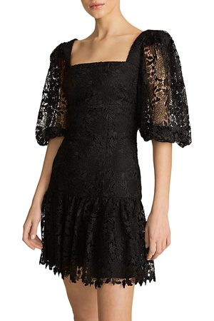 Ml Monique Lhuillier Lace Mini Dress