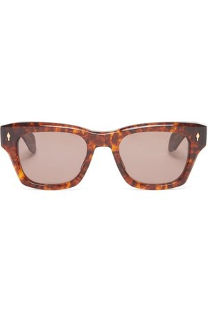 JACQUES MARIE MAGE Dealan 53 Square Acetate Sunglasses - Womens