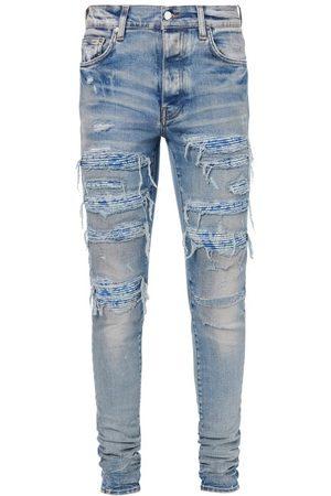AMIRI Men Skinny - Bandana Thrash Distressed Skinny Jeans - Mens