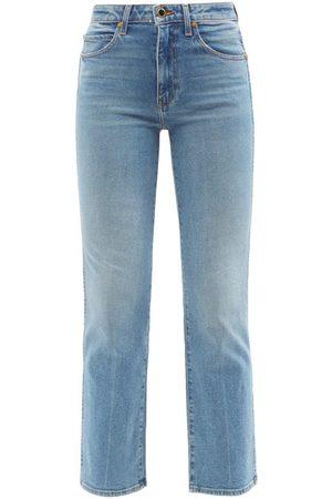 Khaite Women High Waisted - Vivian High-rise Kick-flare Jeans - Womens - Denim
