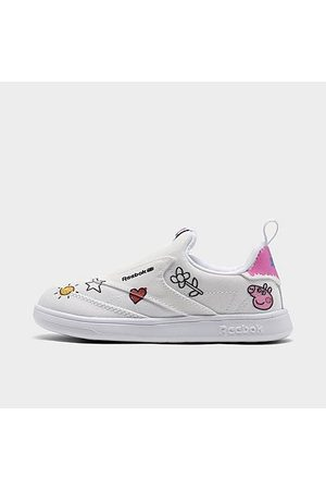 Reebok Casual Shoes - Girls' Toddler Peppa Pig Club C Slip-On 4 Casual Shoes in /Footwear Size 5.0