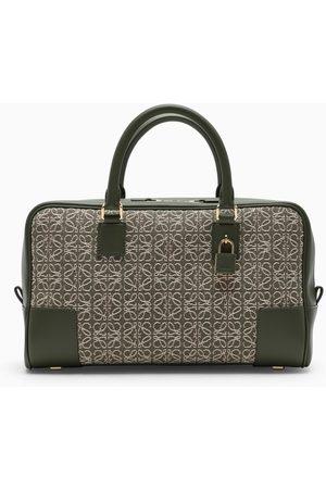 Loewe Amazona 28 jacquard and leather bag