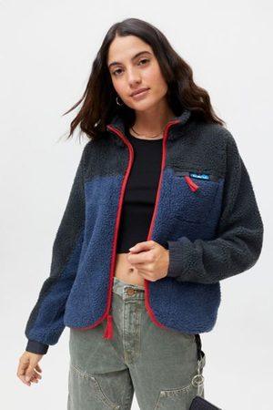 Kavu Women Fleece Jackets - Pinesdale Sherpa Fleece Jacket