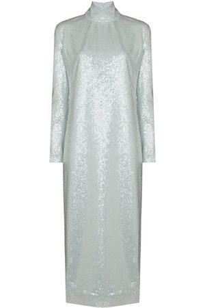 16Arlington Women Long sleeves - Vida sequinned long-sleeve dress