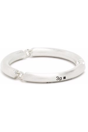 Le Gramme Rings - 3g brushed link ring