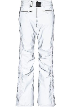 JET SET Women Ski Suits - Starred Glam reflective ski trousers - Grey