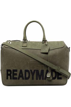 READYMADE Luggage - Logo-print gym bag