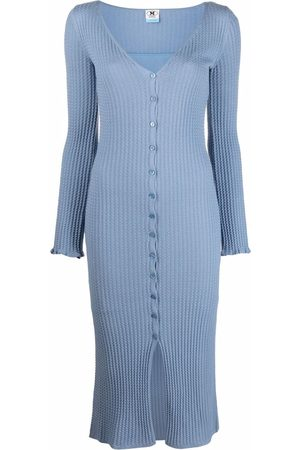 M Missoni Knitted button dress