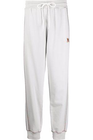 M Missoni Women Sweatpants - Straight-leg track trousers - Grey