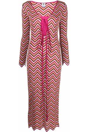 M Missoni Women Midi Dresses - Zig-zag midi dress