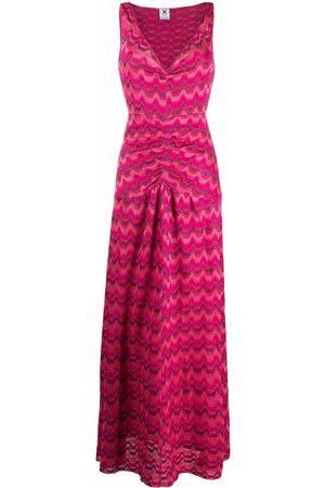 M Missoni Women Maxi Dresses - Zig-zag maxi dress