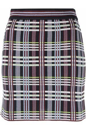 M Missoni Women Pencil Skirts - Plaid-check mini skirt