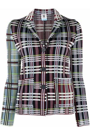 M Missoni Plaid-check jacket