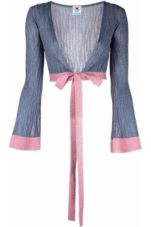 M Missoni Women Cardigans - Knitted short cardigan