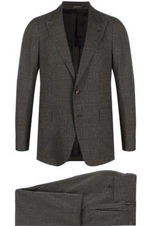 TAGLIATORE Men Suits - Check-print single-breasted suit
