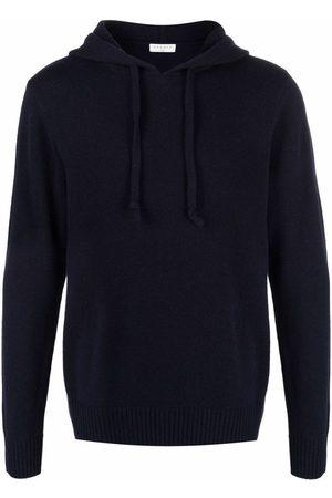 Sandro Knitted long-sleeve hoodie