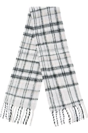 Holzweiler Scarves - Plaid-check knit scarf