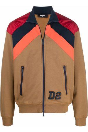 Dsquared2 Men Bomber Jackets - Colour-block bomber jacket
