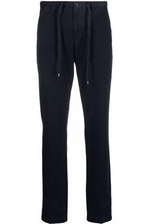 BRIGLIA Men Sweatpants - Cropped drawstring track pants