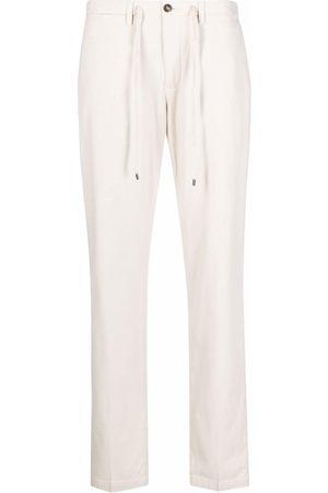 BRIGLIA Men Chinos - Drawstring chino trousers - Neutrals