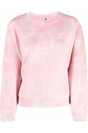 M Missoni Women Sweaters - Logo-print round neck jumper