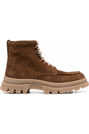 HENDERSON BARACCO Suede hiking boots