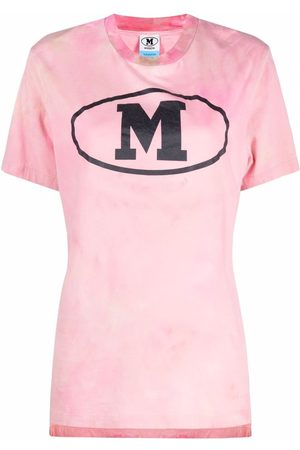 M Missoni Women T-shirts - Logo-print round neck T-shirt