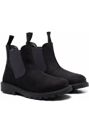 Geox Elasticated-side panel boots