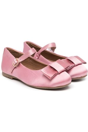 AGE OF INNOCENCE Girls Ballerinas - Ellen bow-detail ballerina shoes