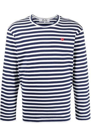 Comme des Garçons Men Long Sleeve - Striped long-sleeve T-shirt