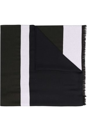 Emporio Armani Men Scarves - Logo-print scarf