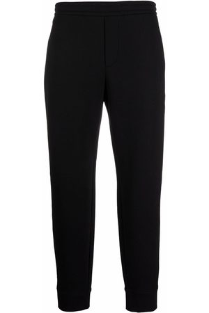 Emporio Armani Men Sweatpants - Embroidered logo sweatpants