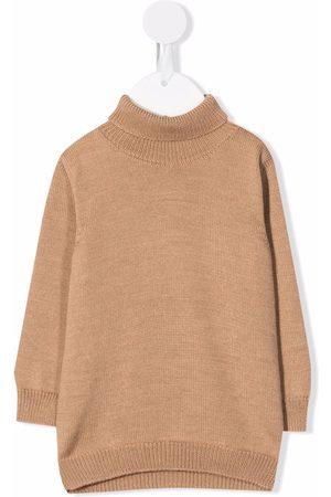 LITTLE BEAR Turtlenecks - Roll neck wool jumper