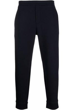 Emporio Armani Men Sweatpants - Logo-embroidered track pants