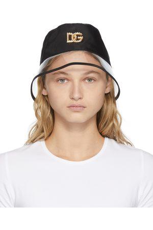 Dolce & Gabbana Nylon & PVC Logo Bucket Hat