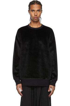 Y-3 Men Sweatshirts - Velvet U SQ Sweatshirt