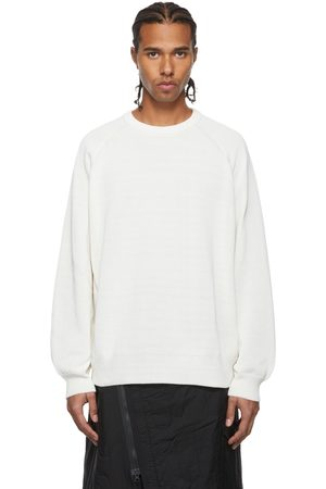 Y-3 Off-White Knit Crew Sweater